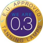 0.3 safe tanning sticker