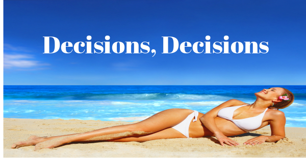 Decisions- sunbed hire v salon